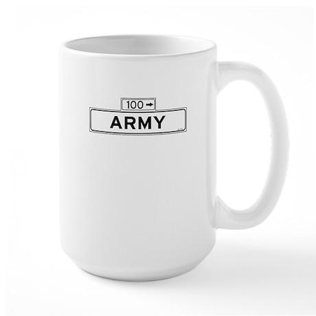 Army Street Large Mug