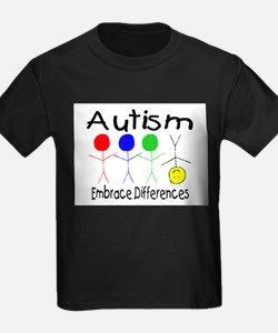 autism embrace difference2 T-Shirt