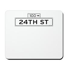 24th Street Mousepad