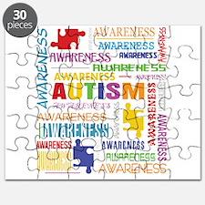 Autism Awareness Collage Puzzle