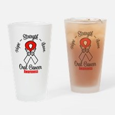 Strength Oral Cancer Drinking Glass