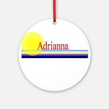 Adrianna Ornament (Round)