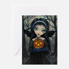 October Woods Greeting Card
