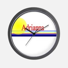 Adrianna Wall Clock