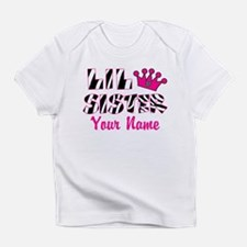 Little Sister Zebra Infant T-Shirt