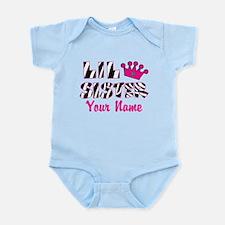 Little Sister Zebra Infant Bodysuit