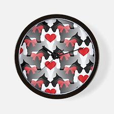 Scottie Love Wall Clock