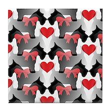 Scottie Love Tile Coaster