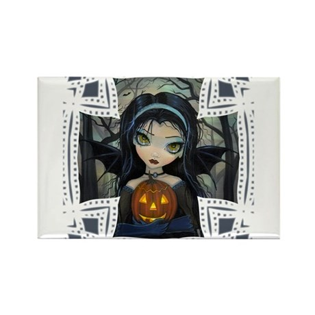October Woods Rectangle Magnet (100 pack)