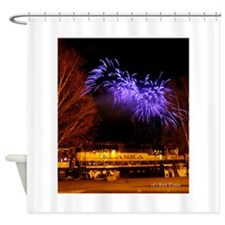 Alaska Railroad #02 Shower Curtain