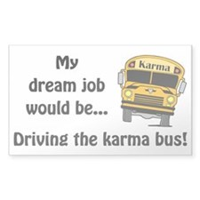 Karma Bus Decal