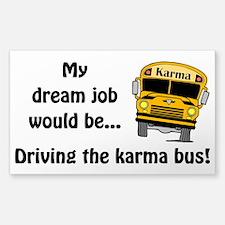 Karma Bus Decal