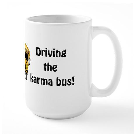 Karma Bus Large Mug