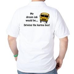 Karma Bus Golf Shirt