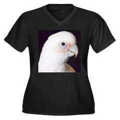 Noel Women's Plus Size V-Neck Dark T-Shirt