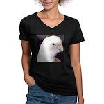Noel Women's V-Neck Dark T-Shirt