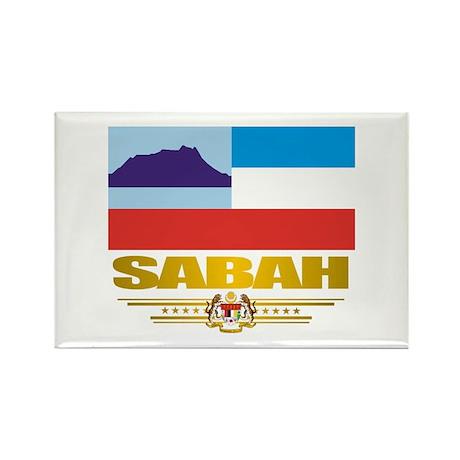 """""""Sabah"""" Rectangle Magnet (10 pack)"""