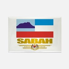 """Sabah"" Rectangle Magnet"