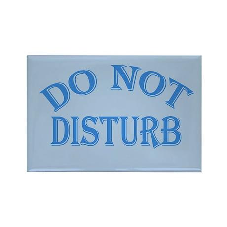 Do Not Disturb Sign Rectangle Magnet