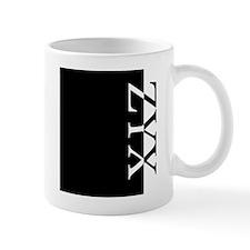 ZYX Typography Mug
