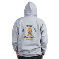 Strength Leukemia Zipped Hoody