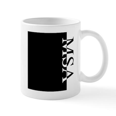 MSA Typography Mug
