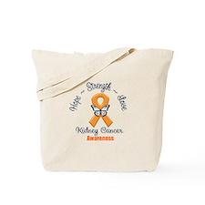 Strength Kidney Cancer Tote Bag
