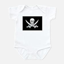 Jolly Roger Infant Creeper