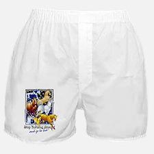 Horsing Around Boxer Shorts