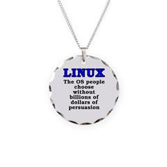 Linux: The OS people - Necklace