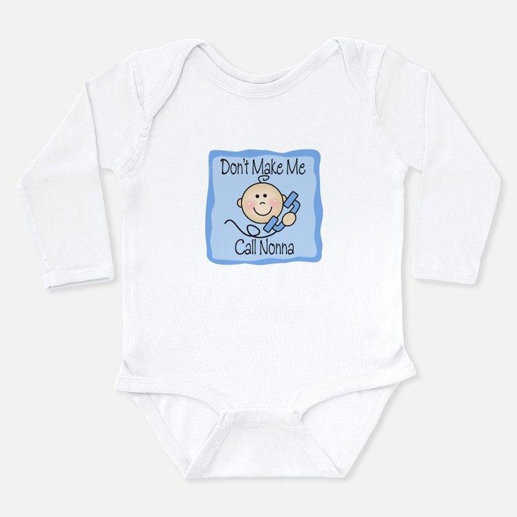 Cute Nonna Long Sleeve Infant Bodysuit