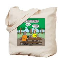KNOTS Camping Cookies Tote Bag