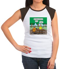 KNOTS Camping Cookies Women's Cap Sleeve T-Shirt