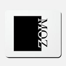 MOZ Typography Mousepad