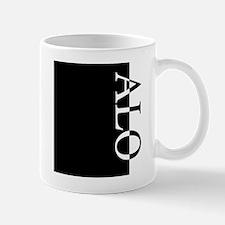 ALO Typography Mug