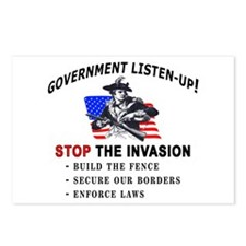 Invasion Listen-Up -  Postcards (Package of 8)