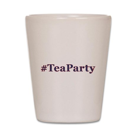#TeaParty Shot Glass
