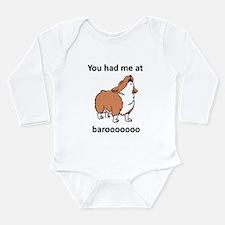 Baroo Long Sleeve Infant Bodysuit