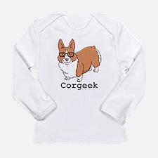 Corgeek Long Sleeve Infant T-Shirt