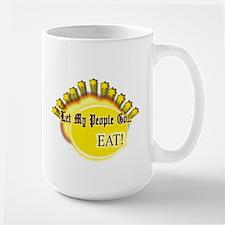 Let my people go! Large Mug