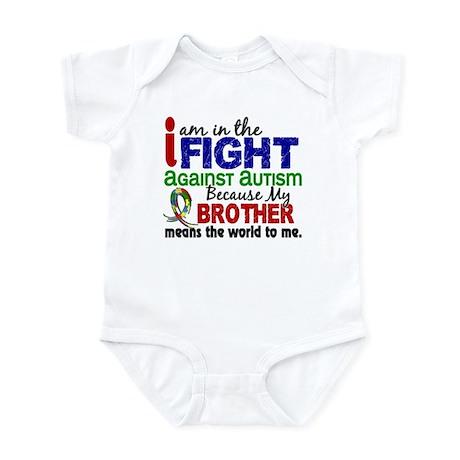 In The Fight 2 Autism Infant Bodysuit