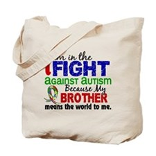 In The Fight 2 Autism Tote Bag