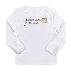 Let My People Go Eat Long Sleeve Infant T-Shirt