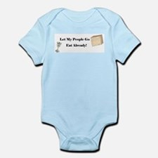 Let My People Go Eat Infant Bodysuit
