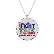 In The Fight 2 Autism Necklace