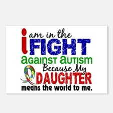 In The Fight 2 Autism Postcards (Package of 8)