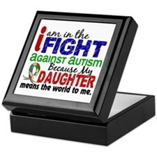 In The Fight 2 Autism Keepsake Box