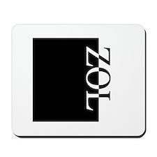 ZOL Typography Mousepad