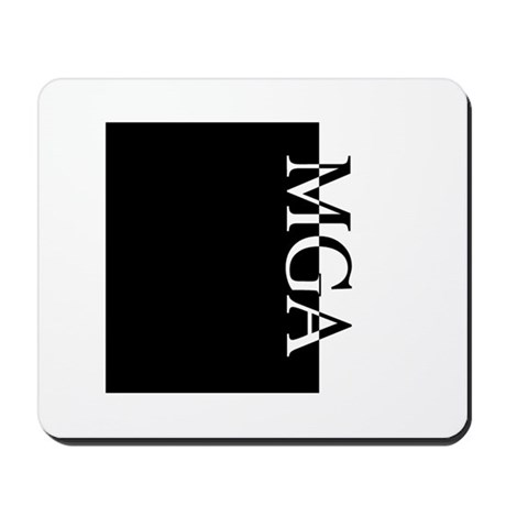 MGA Typography Mousepad