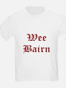 WeeBairnRed T-Shirt